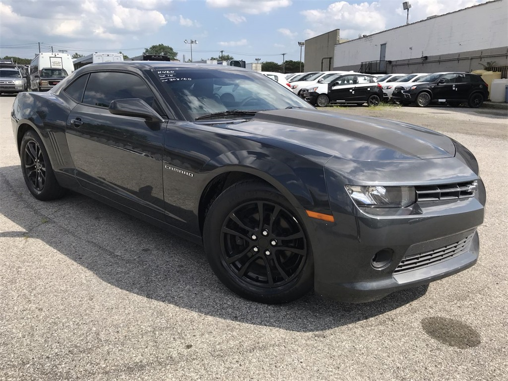 Pre Owned 2014 Chevrolet Camaro 2ls Rwd 2d Coupe