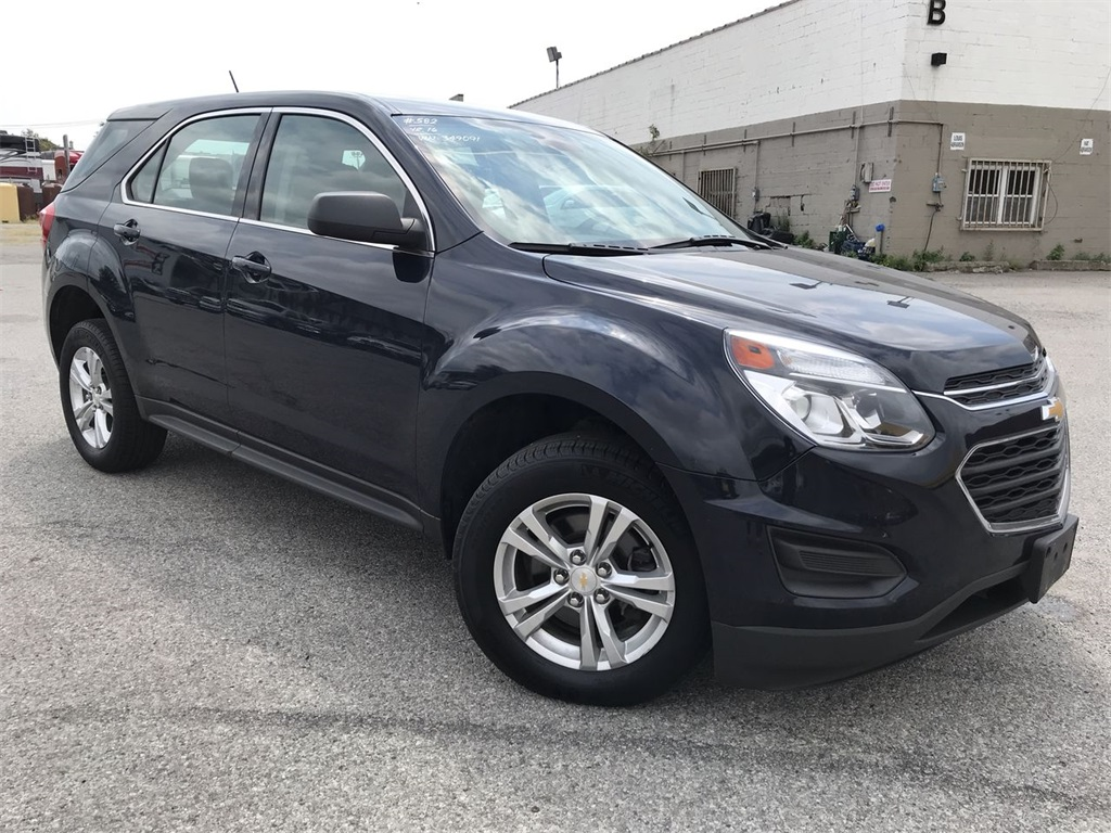 Pre Owned 2016 Chevrolet Equinox Ls Awd
