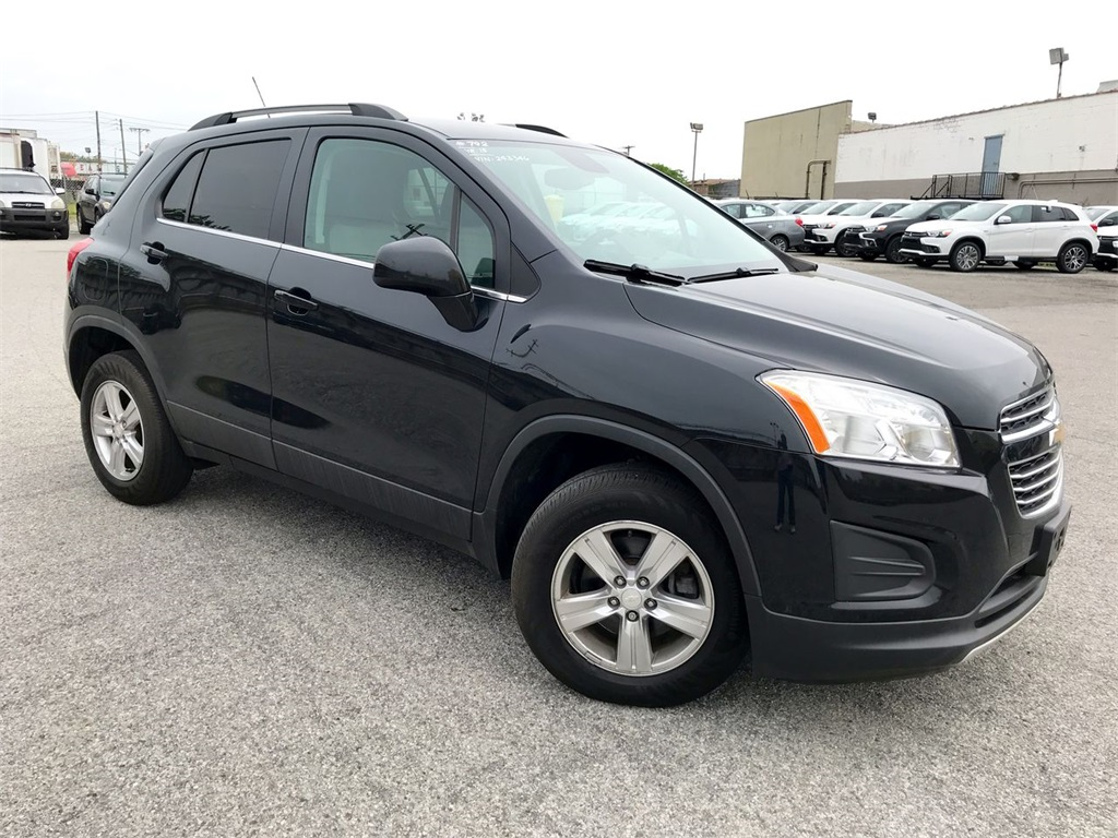 Pre Owned 2015 Chevrolet Trax Lt Awd