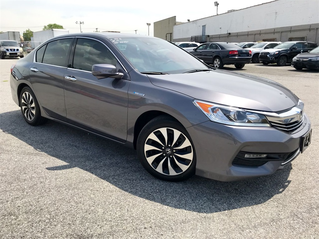 Pre Owned 2017 Honda Accord Hybrid Ex L