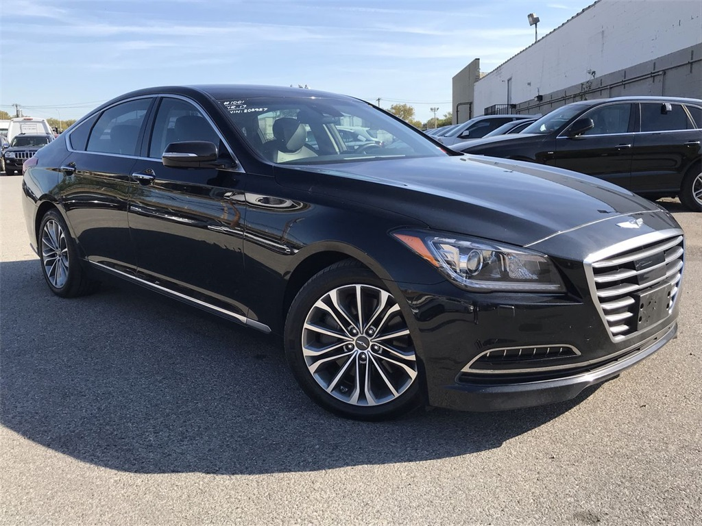 2017 Genesis G80 3.8 >> Pre Owned 2017 Genesis G80 3 8 With Navigation Awd