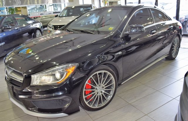 Pre Owned 2014 Mercedes Benz Cla Cla 45 Amg Coupe In Richmond Hill