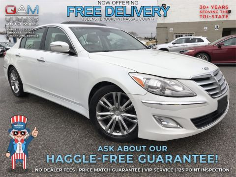Pre-Owned 2012 Hyundai Genesis 3.8 With Navigation